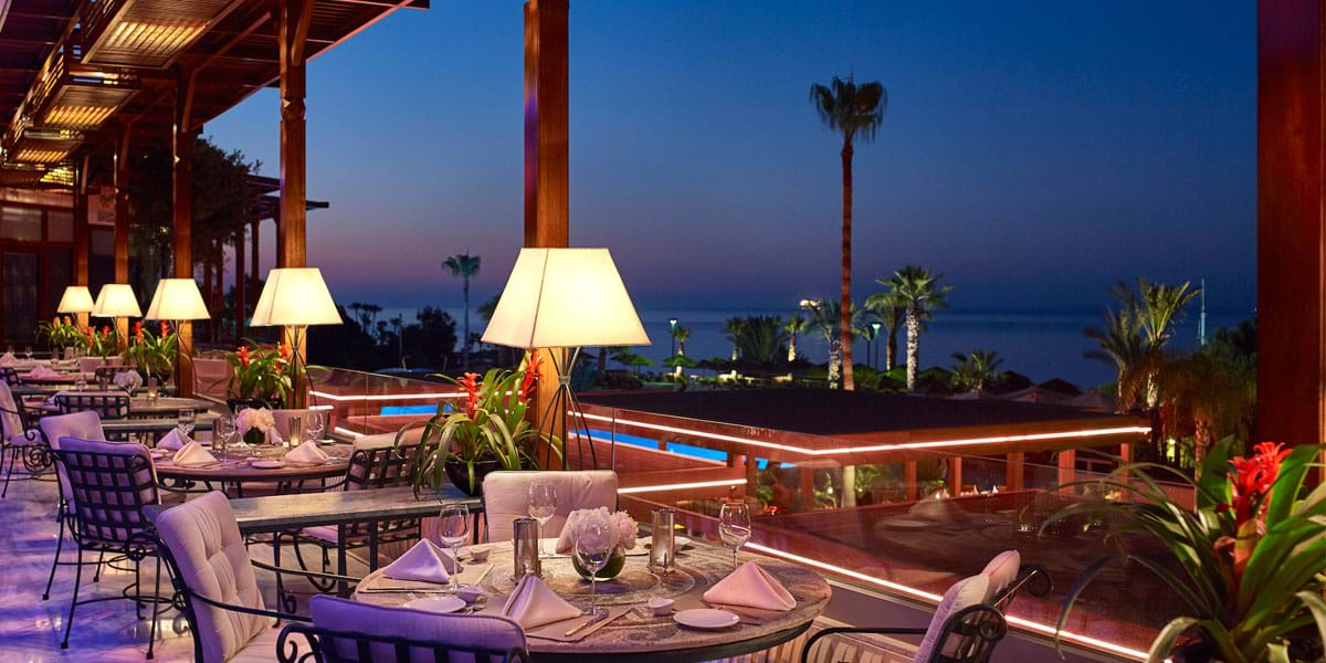 Vivaldi Terrace, best restaurants limassol