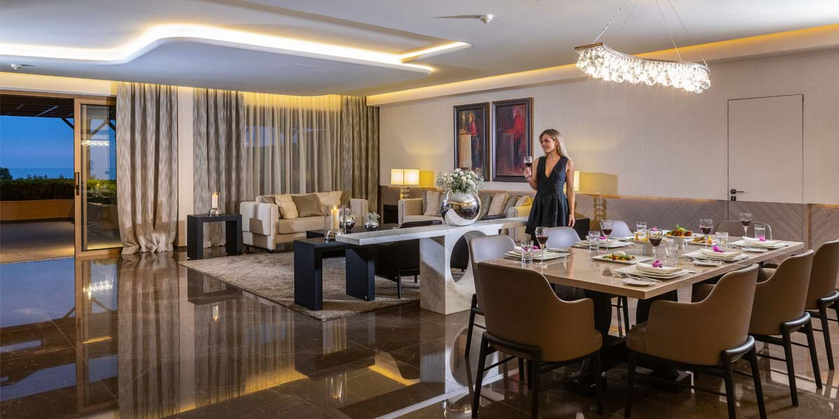 The Royal Suite, family hotels in limassol