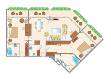 Prince Suite Floor Plan