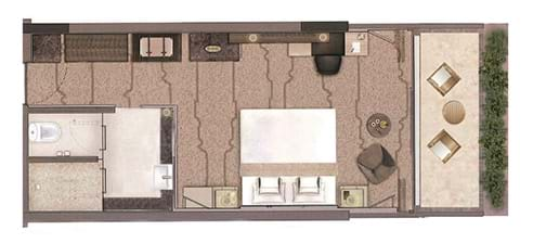 Superior Sea View Floor Plan