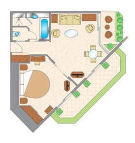 Business Suite - Inland View Floor Plan