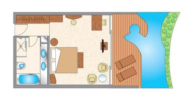 Garden Studio 'Adults Only' Floor Plan