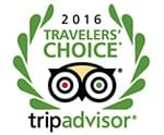 Trip Advisor - travellers choice winner